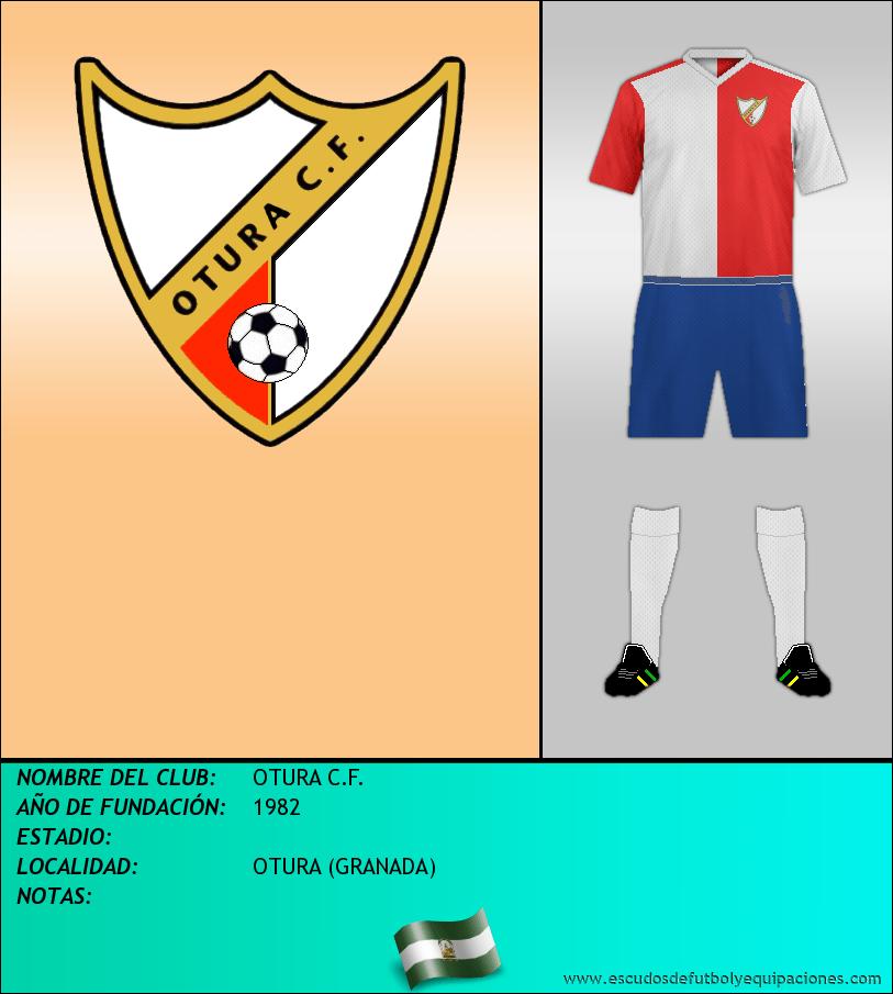 Escudo de OTURA C.F.