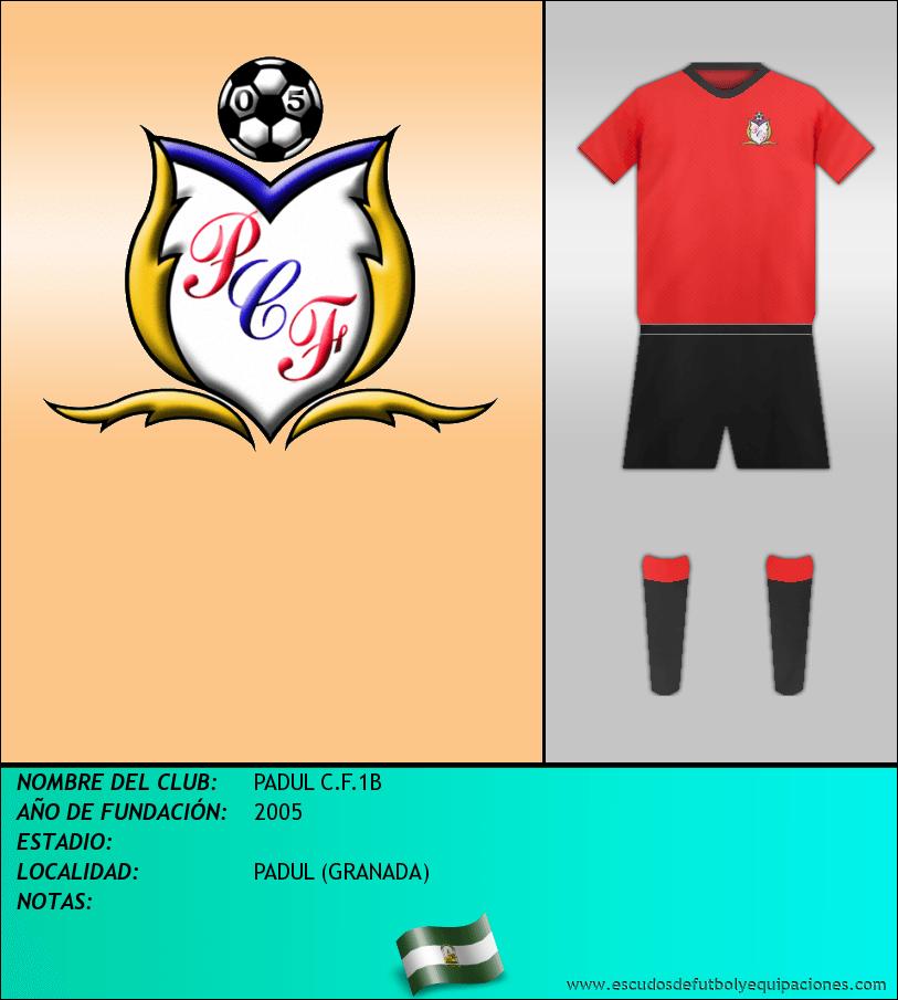 Escudo de PADUL C.F.1B