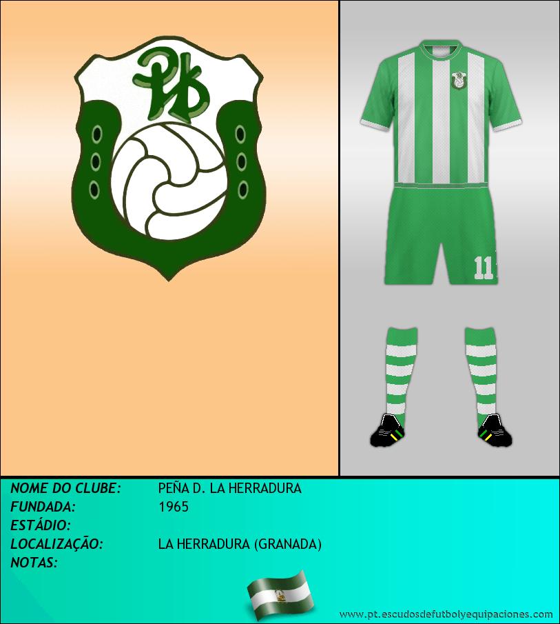 Escudo de PEÑA D. LA HERRADURA