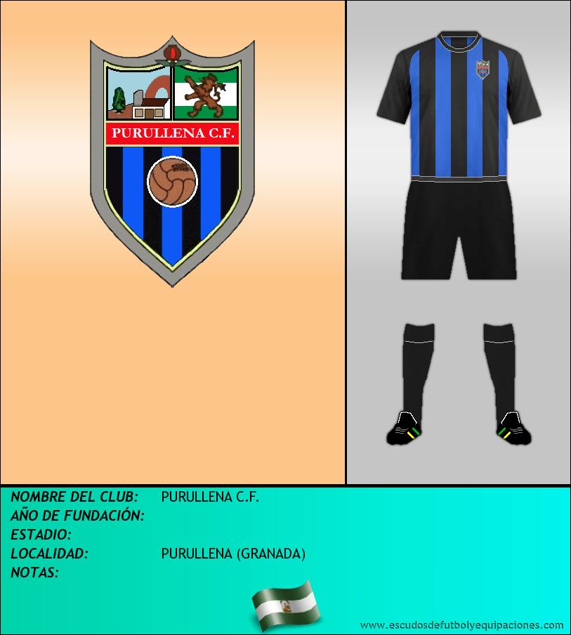 Escudo de PURULLENA C.F.