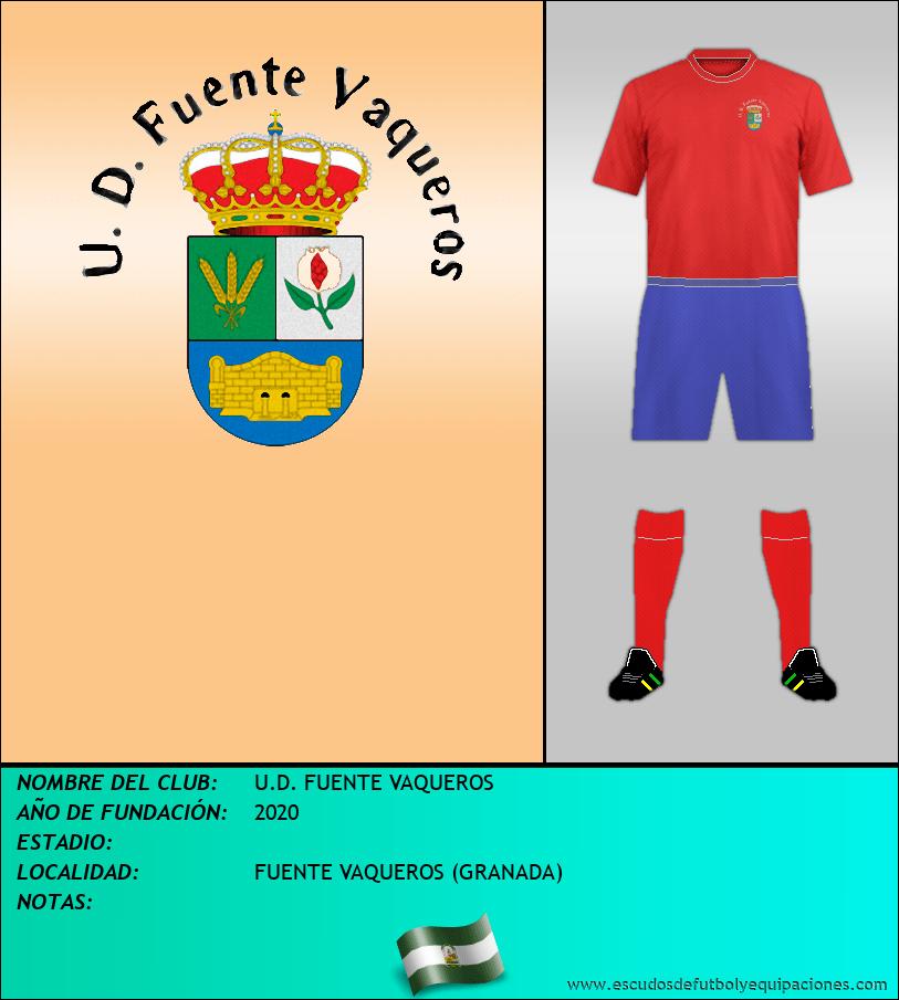 Escudo de U.D. FUENTE VAQUEROS