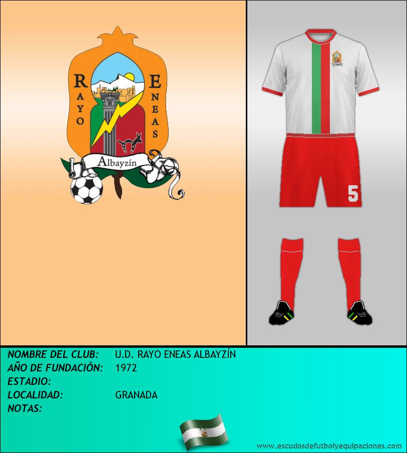 Escudo de U.D. RAYO ENEAS ALBAYZÍN
