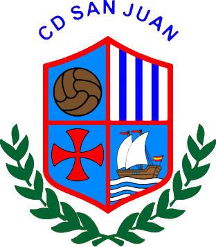 Escudo de C.D. SAN JUAN (HU) (ANDALUCÍA)