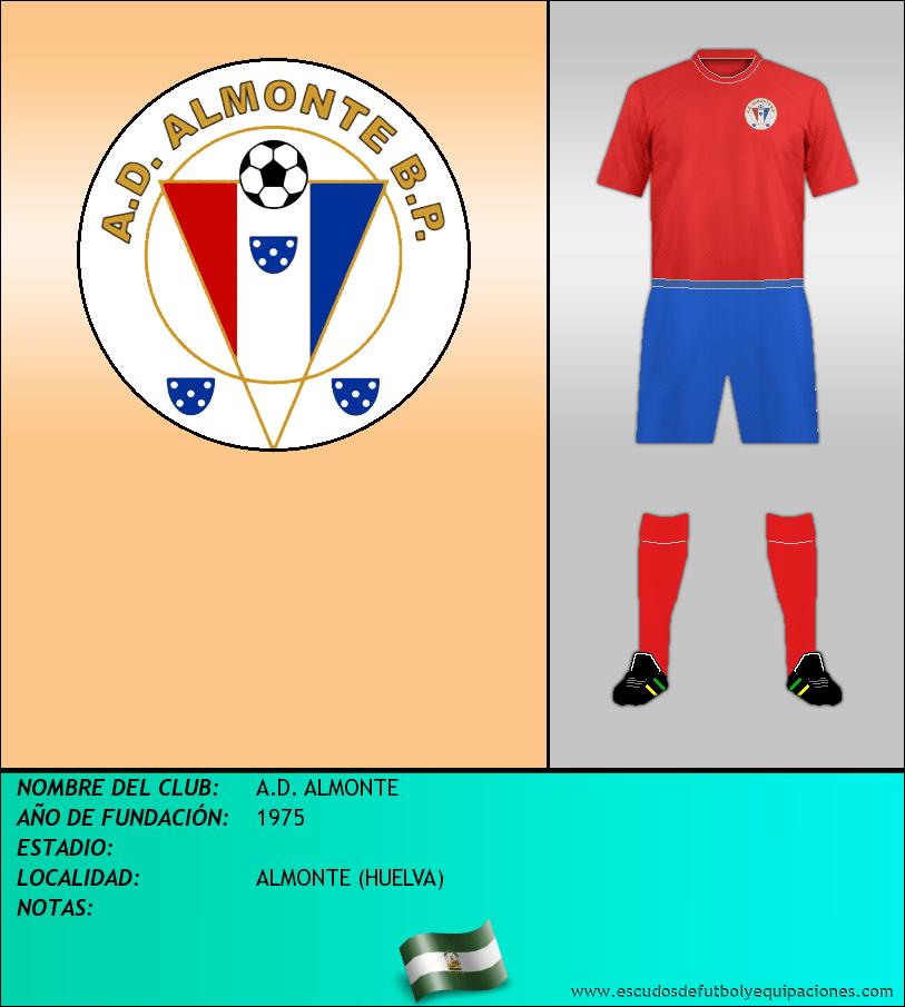 Escudo de A.D. ALMONTE