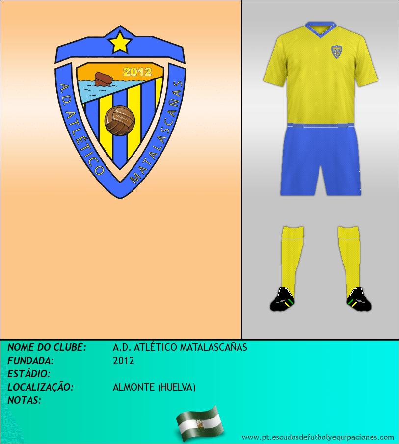 Escudo de A.D. ATLÉTICO MATALASCAÑAS
