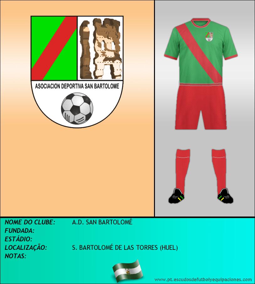 Escudo de A.D. SAN BARTOLOMÉ