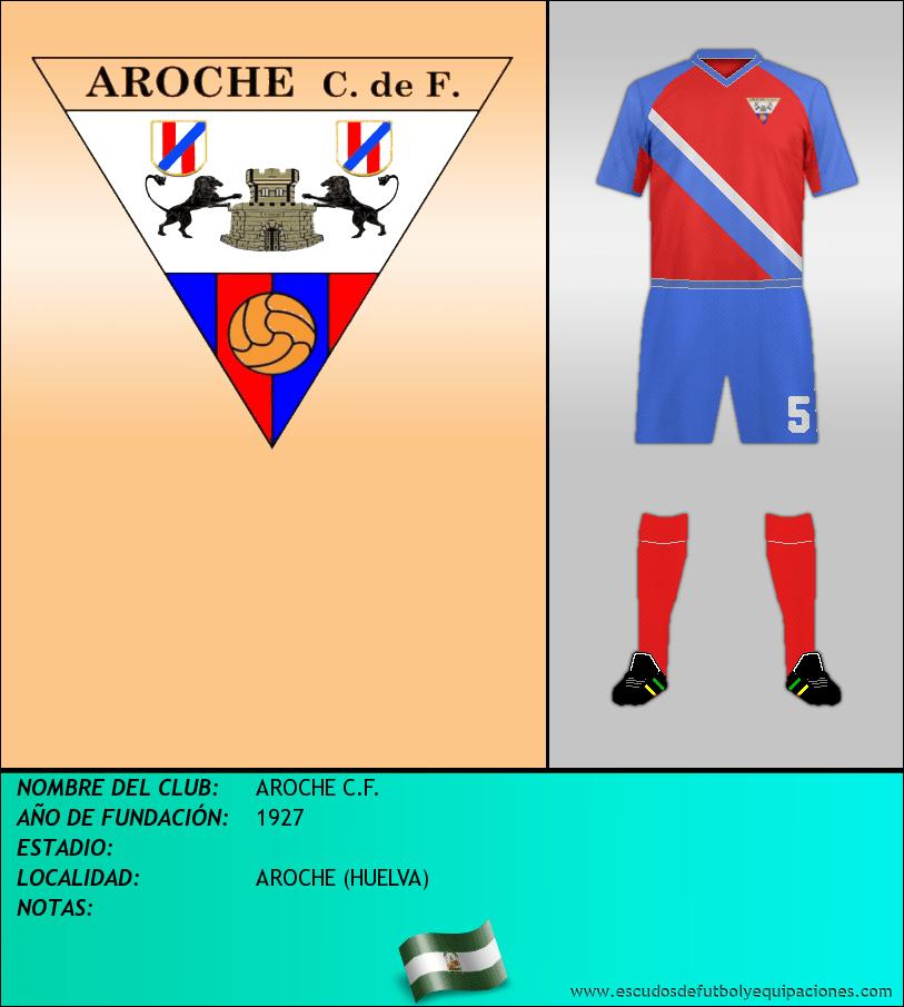 Escudo de AROCHE C.F.