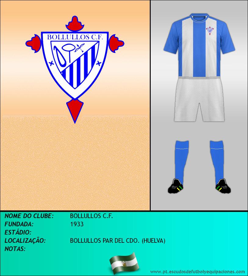 Escudo de BOLLULLOS C.F.