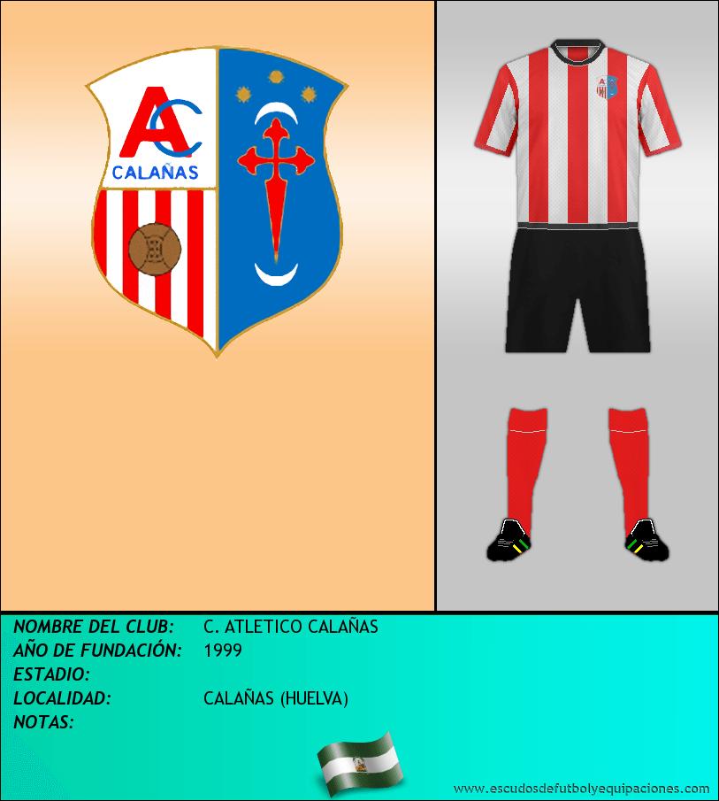 Escudo de C. ATLETICO CALAÑAS