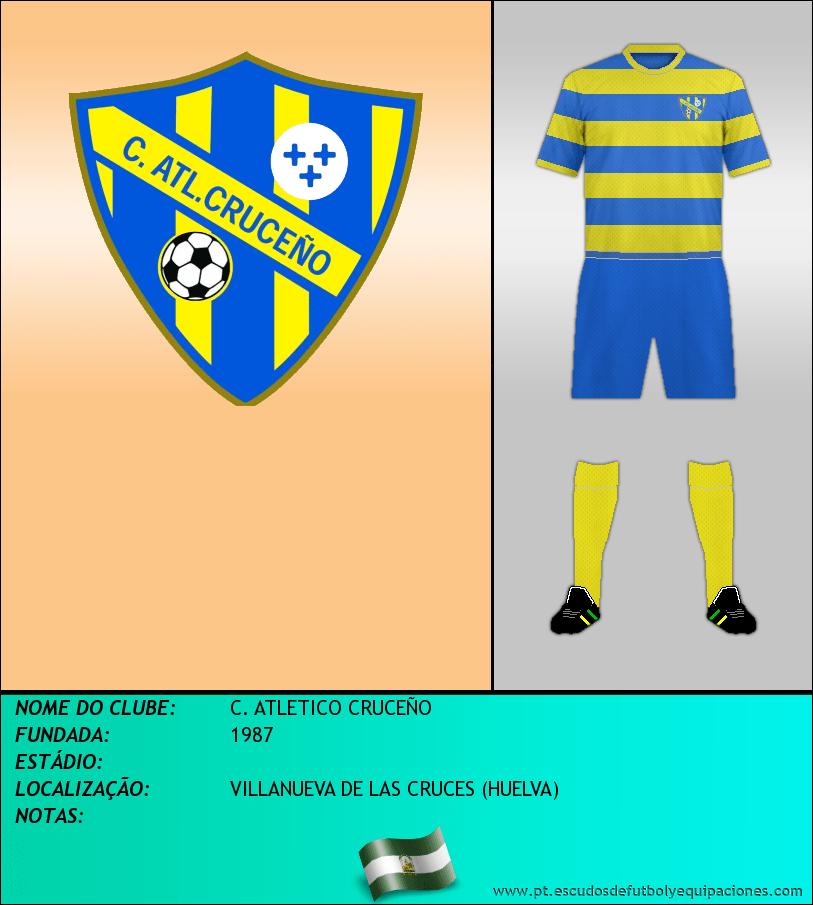 Escudo de C. ATLETICO CRUCEÑO