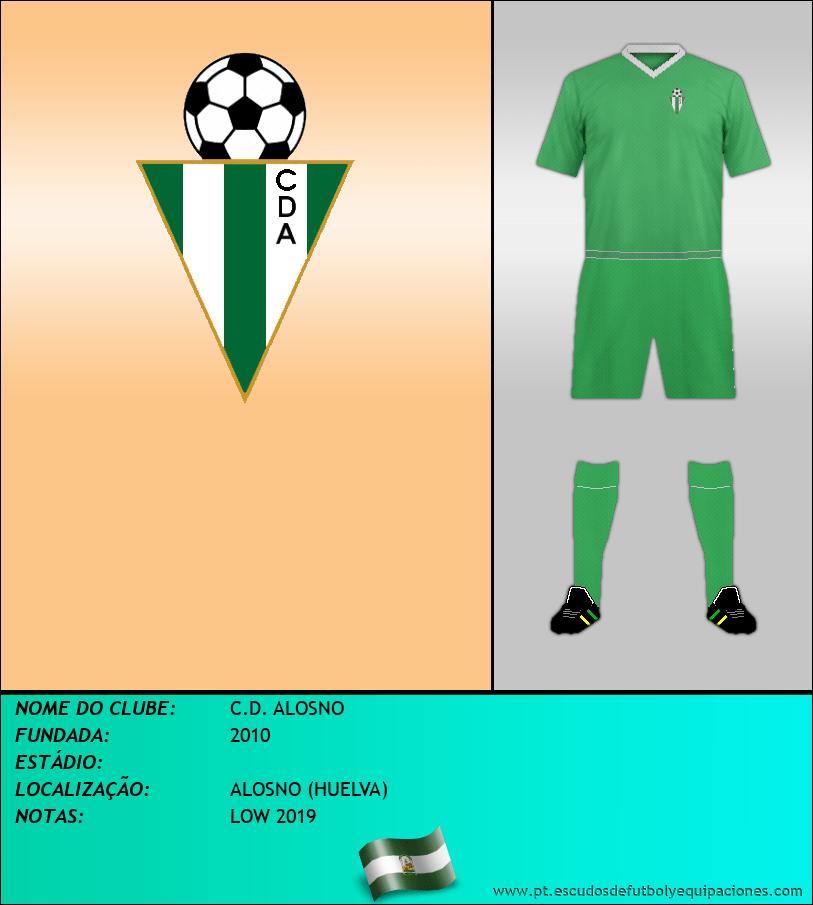Escudo de C.D. ALOSNO