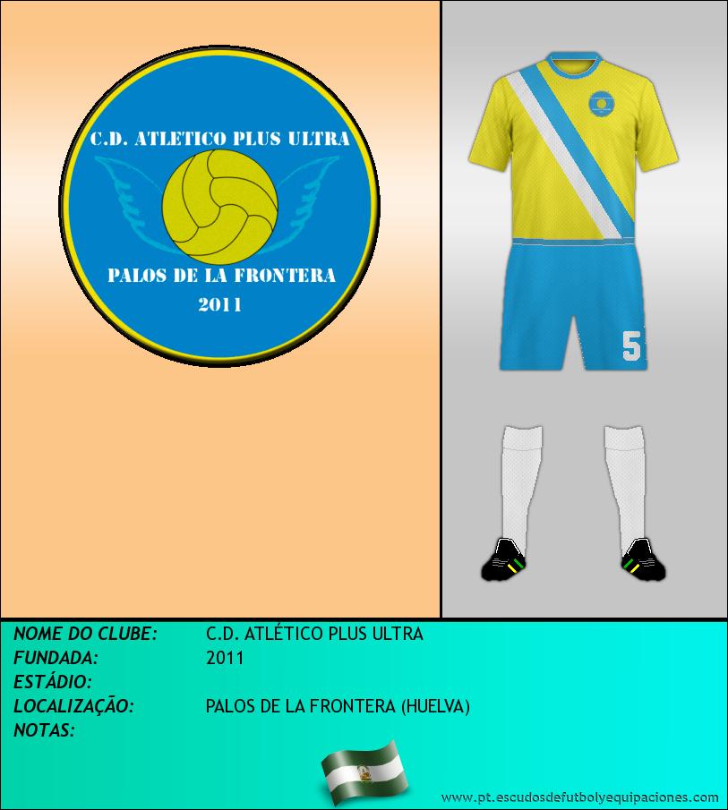 Escudo de C.D. ATLÉTICO PLUS ULTRA