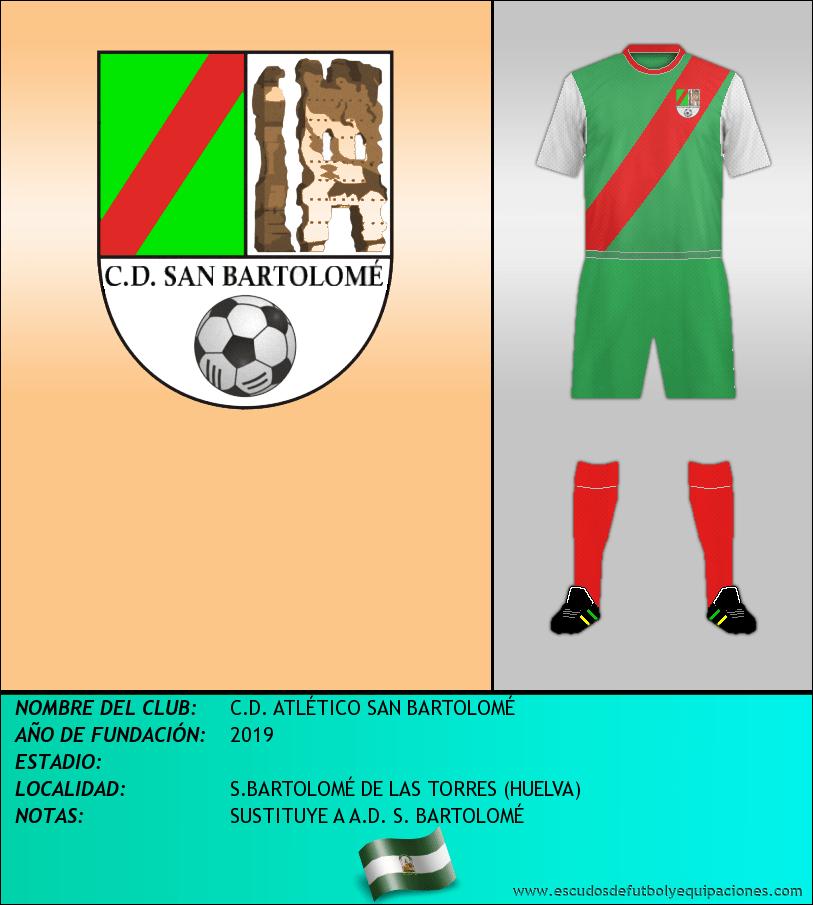 Escudo de C.D. ATLÉTICO SAN BARTOLOMÉ