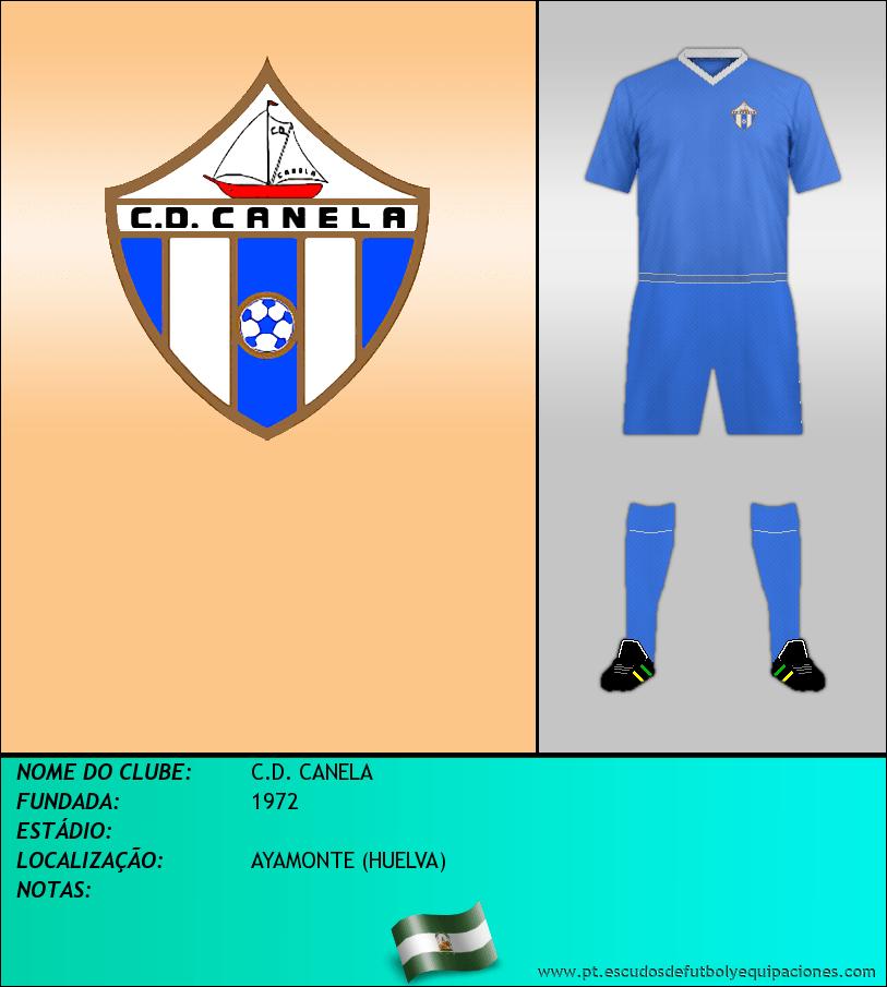 Escudo de C.D. CANELA