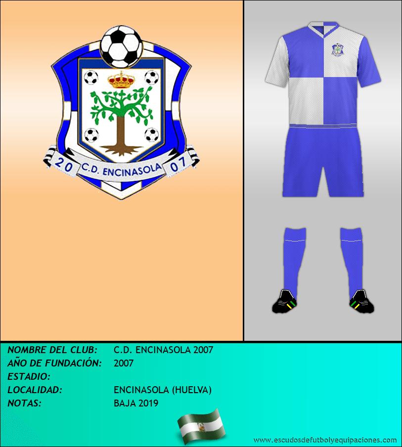 Escudo de C.D. ENCINASOLA 2007