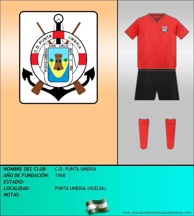 Escudo de C.D. PUNTA UMBRIA