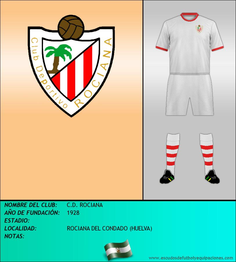 Escudo de C.D. ROCIANA