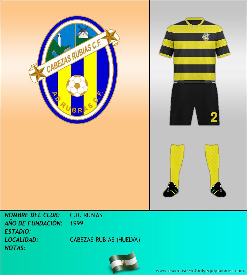 Escudo de C.D. RUBIAS