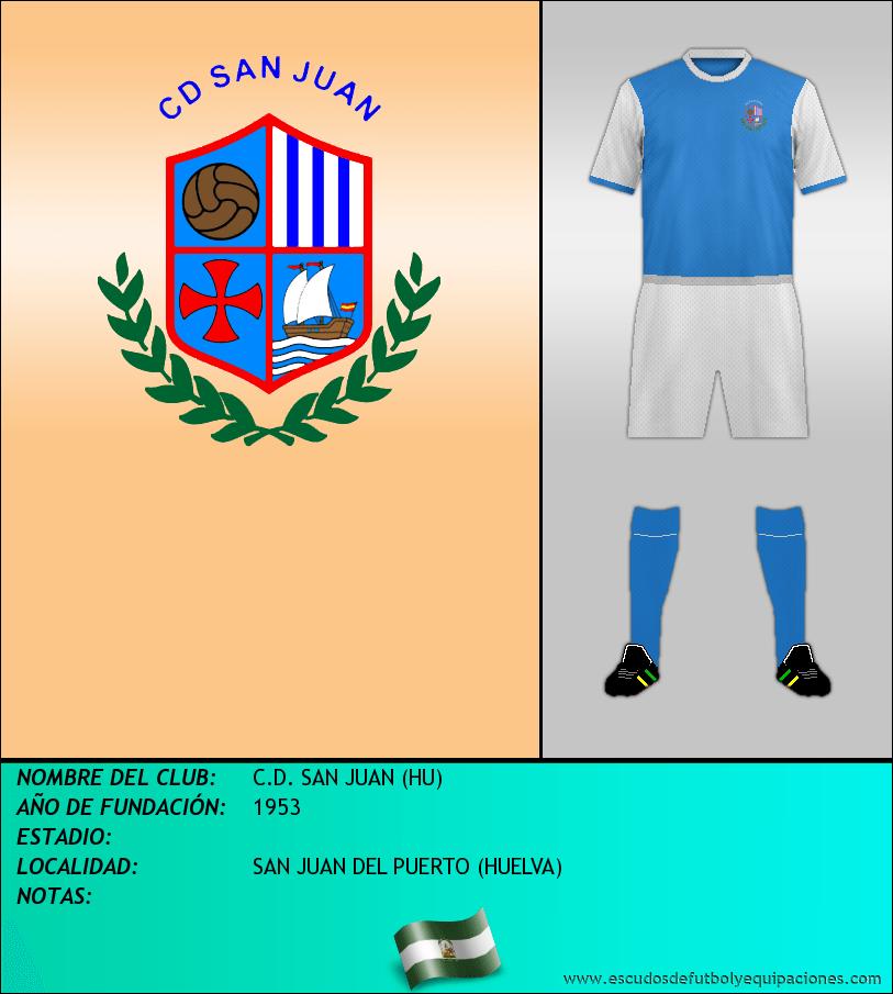 Escudo de C.D. SAN JUAN (HU)