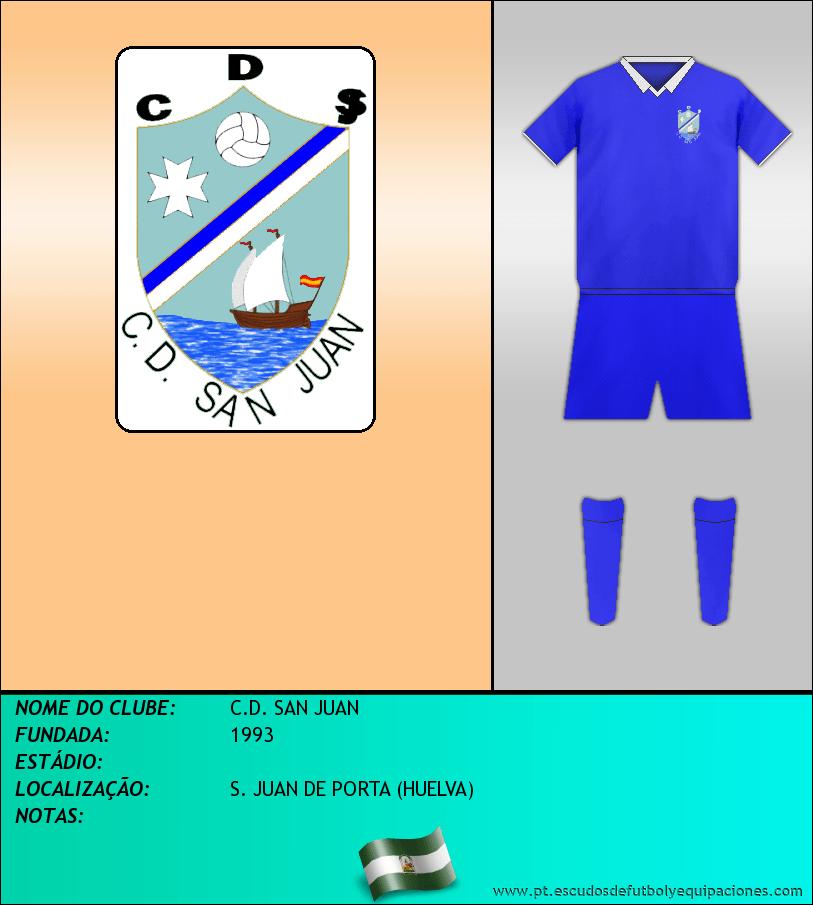 Escudo de C.D. SAN JUAN