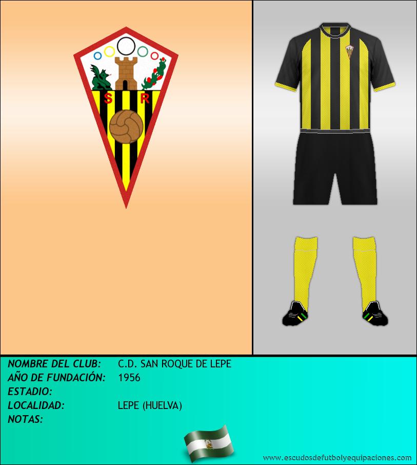 Escudo de C.D. SAN ROQUE DE LEPE