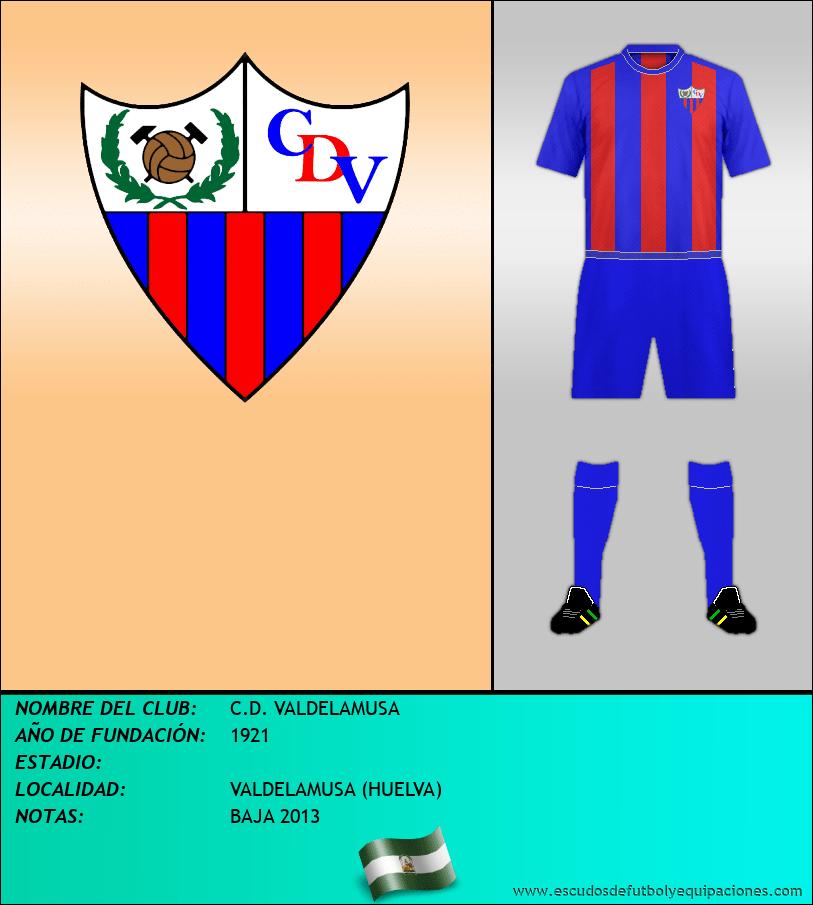 Escudo de C.D. VALDELAMUSA