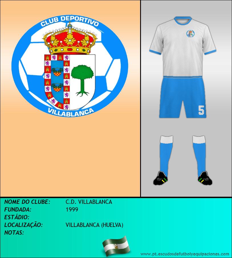 Escudo de C.D. VILLABLANCA