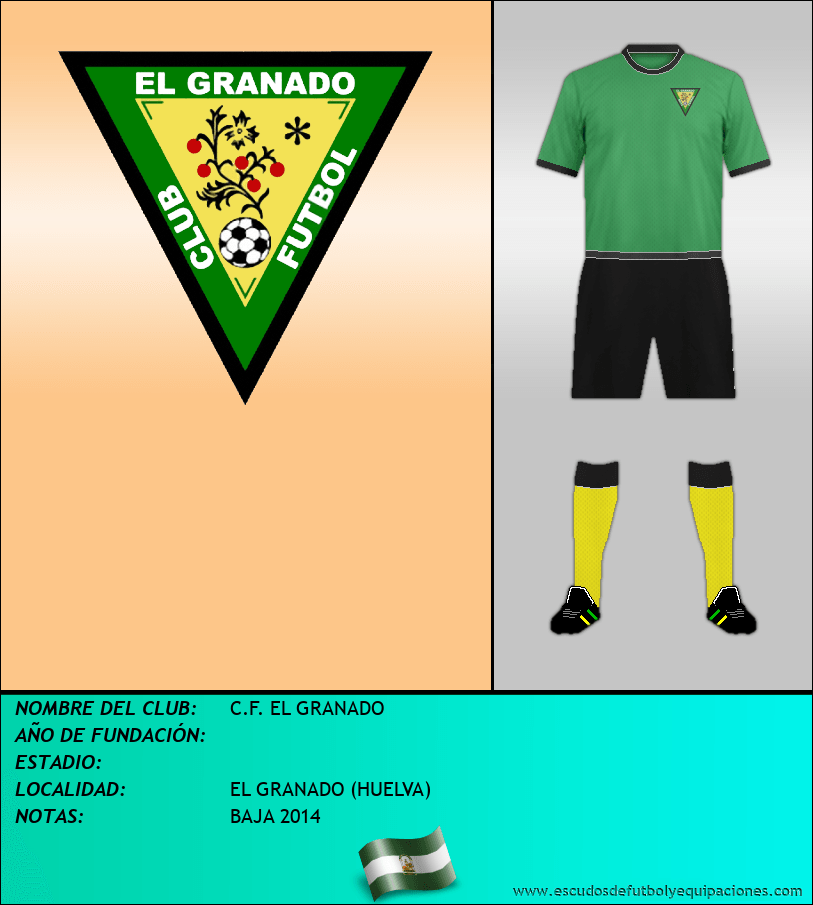 Escudo de C.F. EL GRANADO