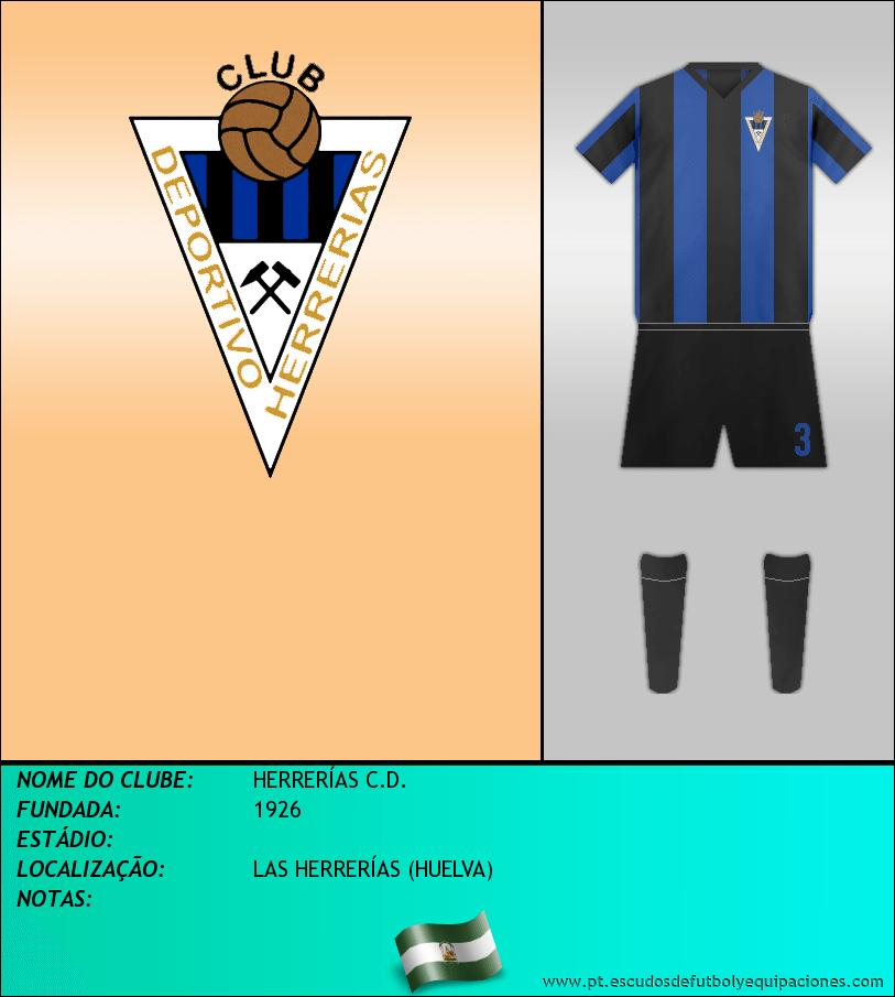 Escudo de HERRERÍAS C.D.