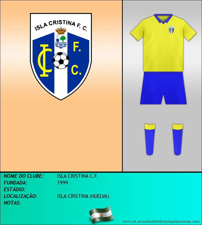 Escudo de ISLA CRISTINA C.F.