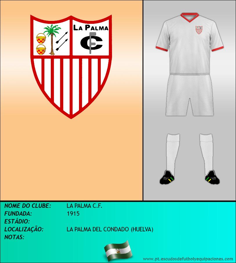 Escudo de LA PALMA C.F.