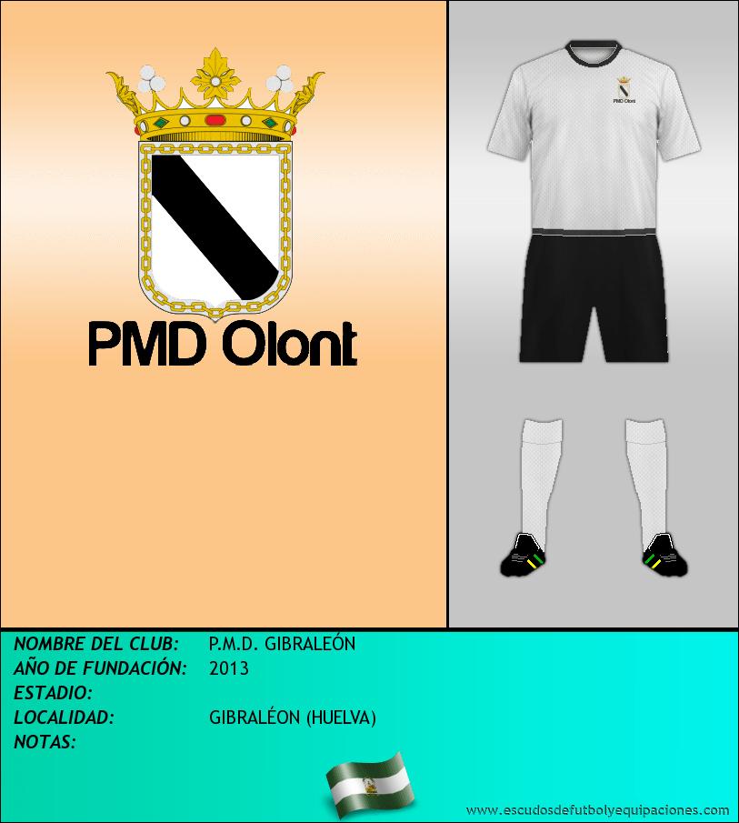 Escudo de P.M.D. GIBRALEÓN