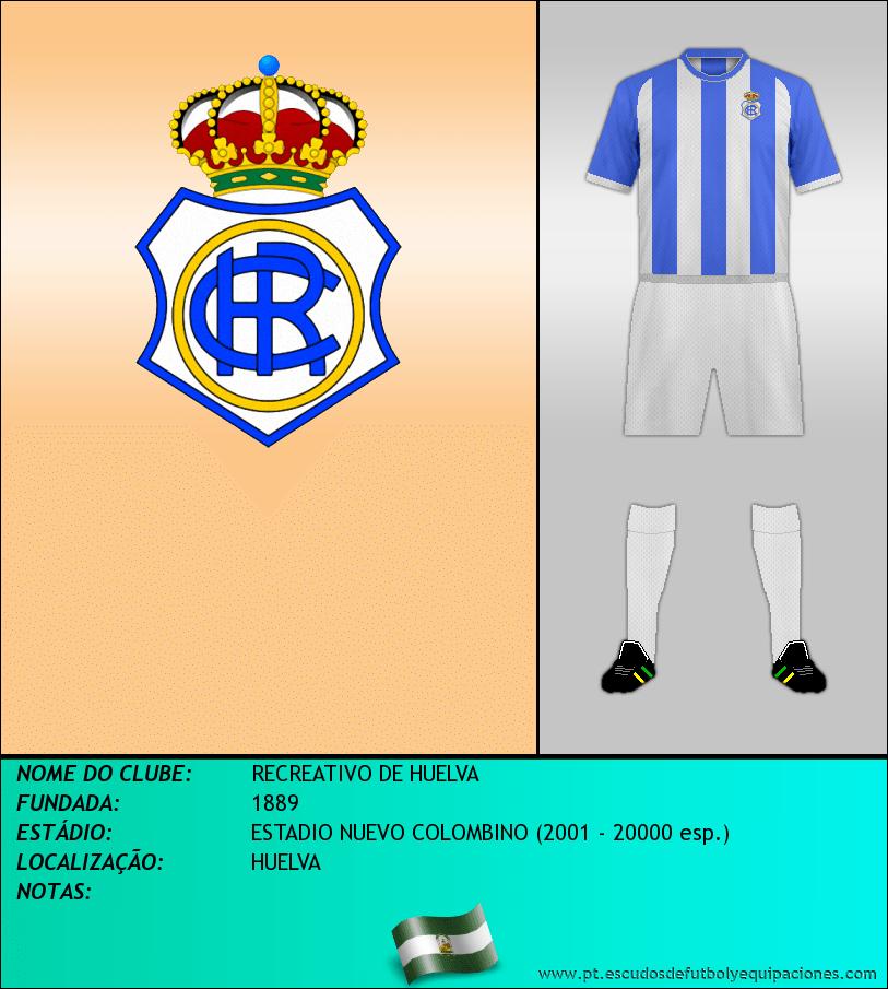 Escudo de RECREATIVO DE HUELVA