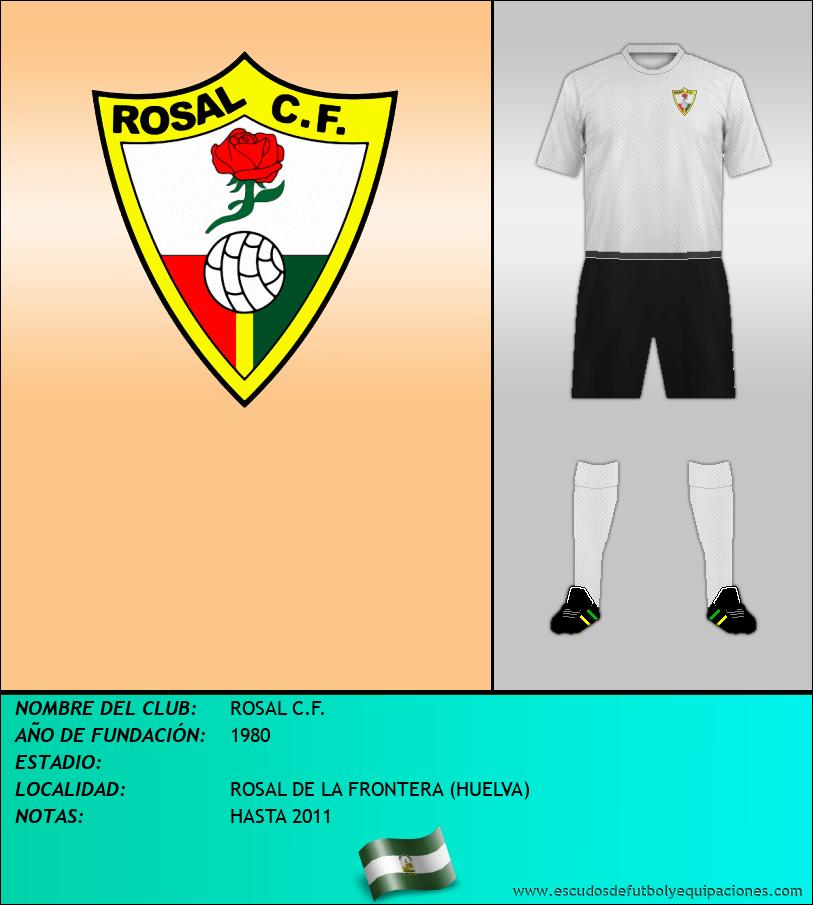Escudo de ROSAL C.F.