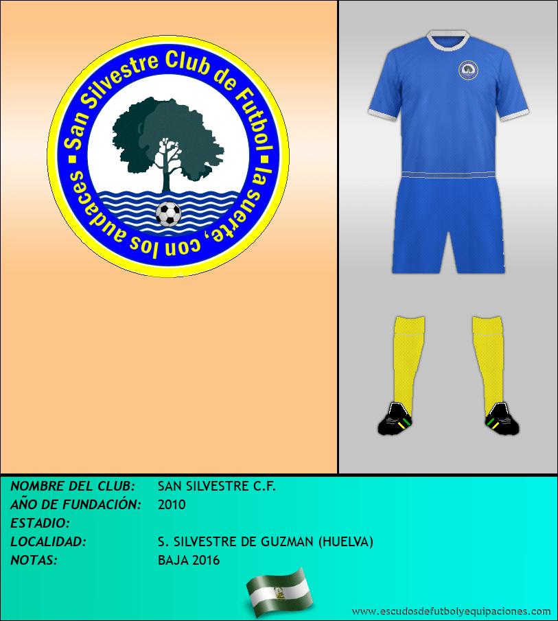 Escudo de SAN SILVESTRE C.F.