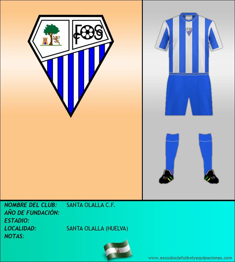 Escudo de SANTA OLALLA C.F.