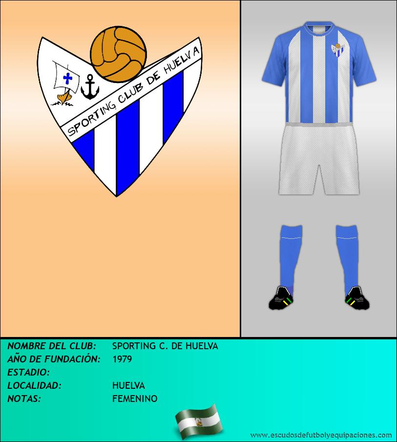 Escudo de SPORTING C. DE HUELVA