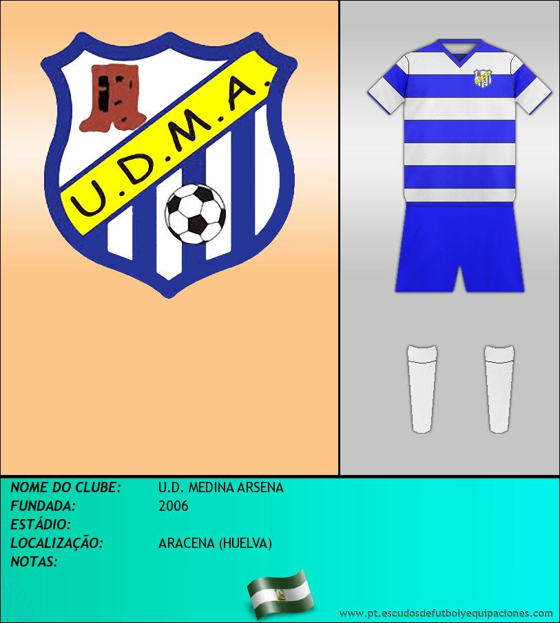 Escudo de U.D. MEDINA ARSENA