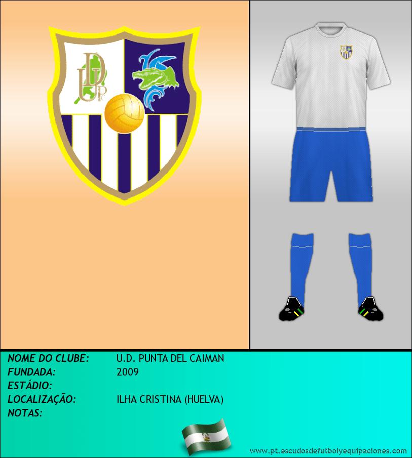 Escudo de U.D. PUNTA DEL CAIMAN