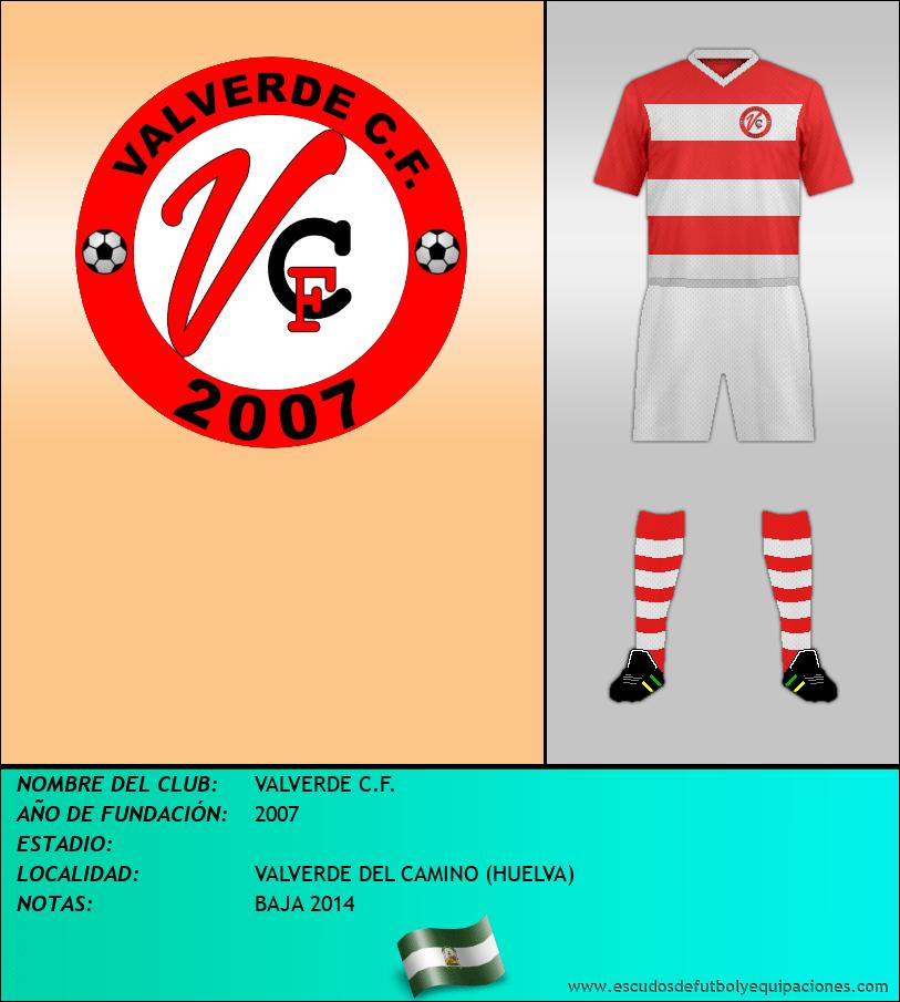 Escudo de VALVERDE C.F.