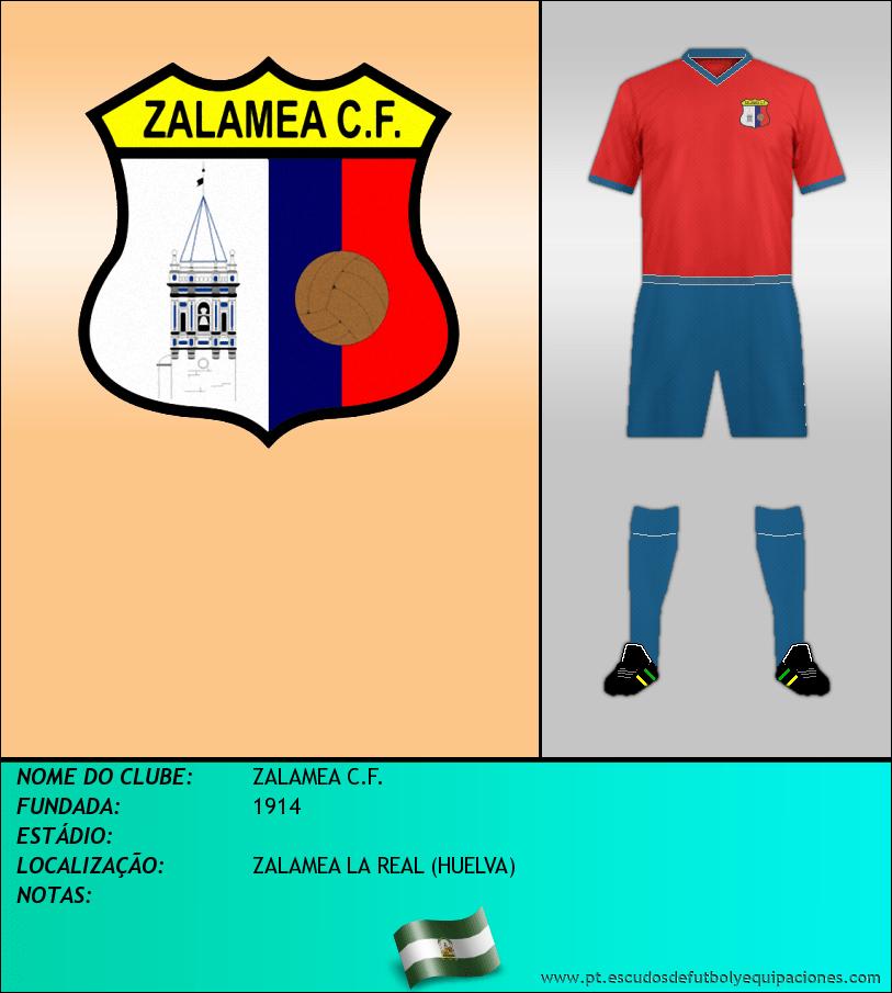 Escudo de ZALAMEA C.F.