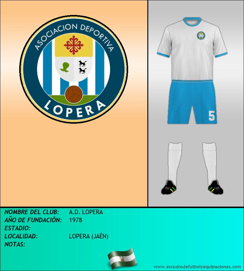 Escudo de A.D. LOPERA