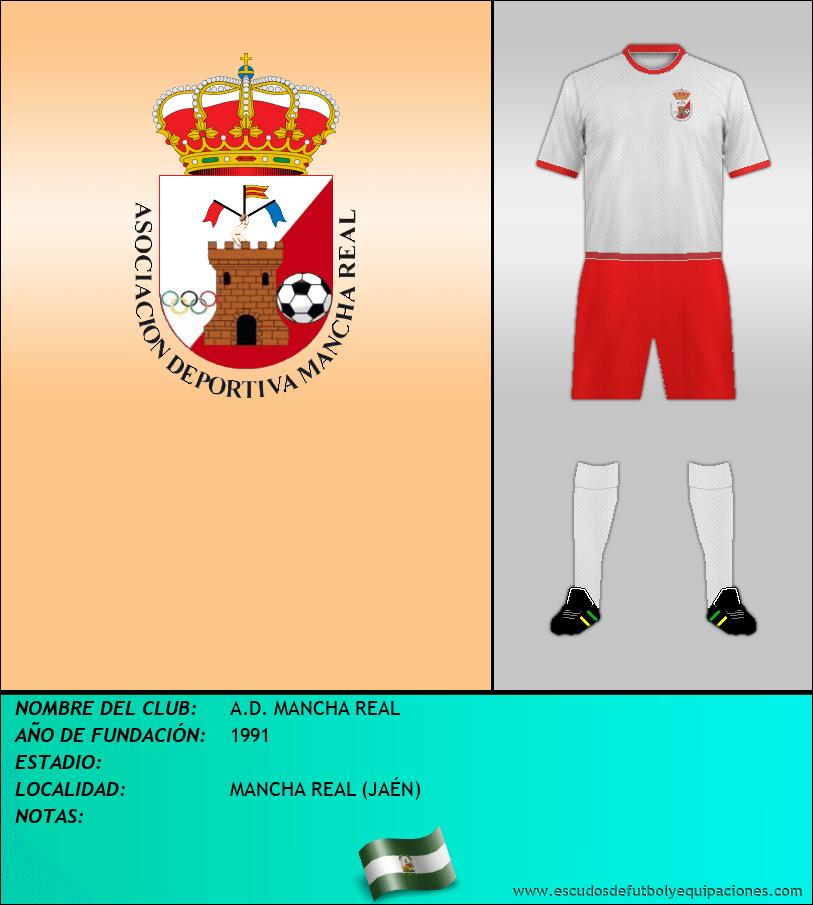 Escudo de A.D. MANCHA REAL