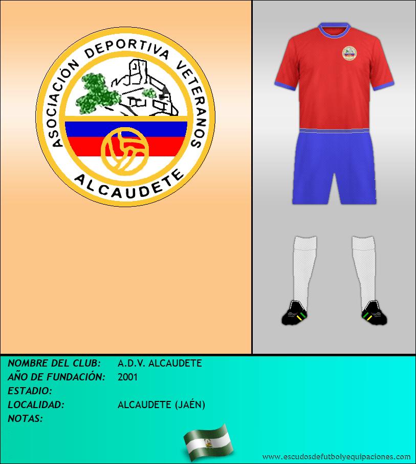 Escudo de A.D.V. ALCAUDETE