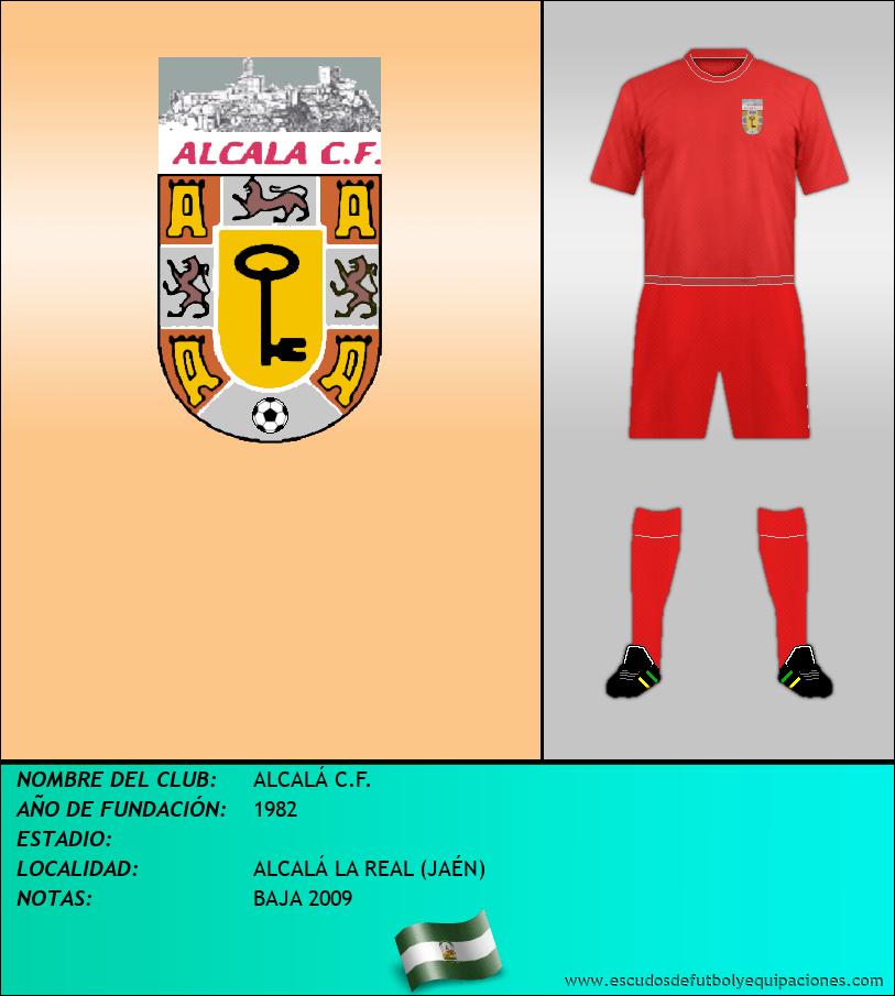 Escudo de ALCALÁ C.F.