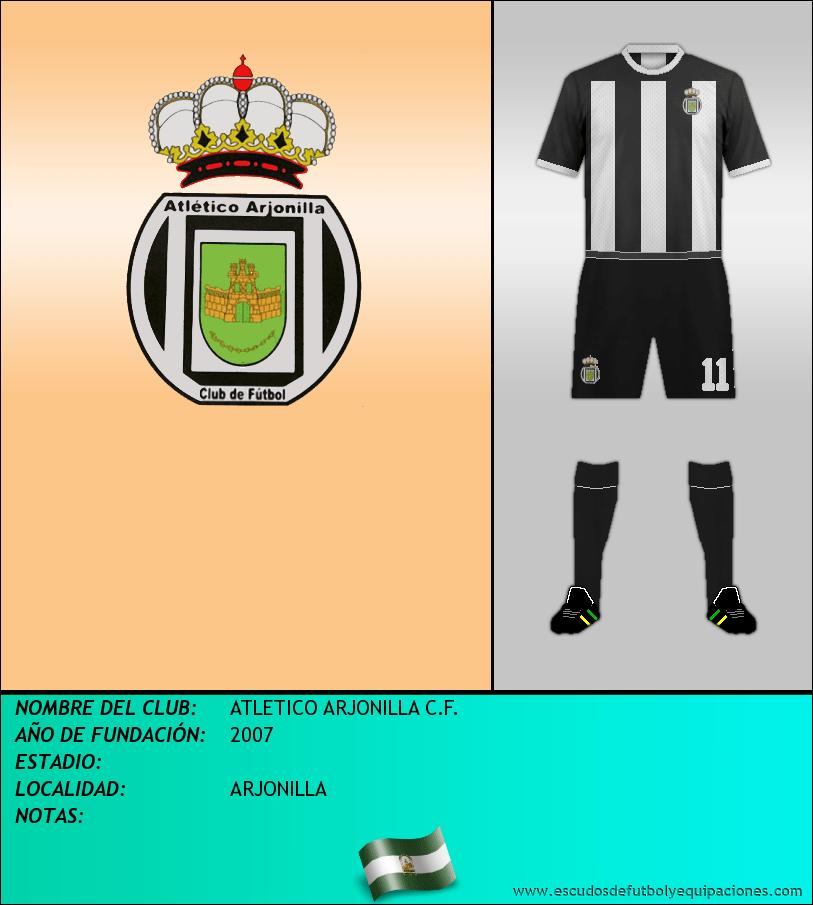 Escudo de ATLETICO ARJONILLA C.F.