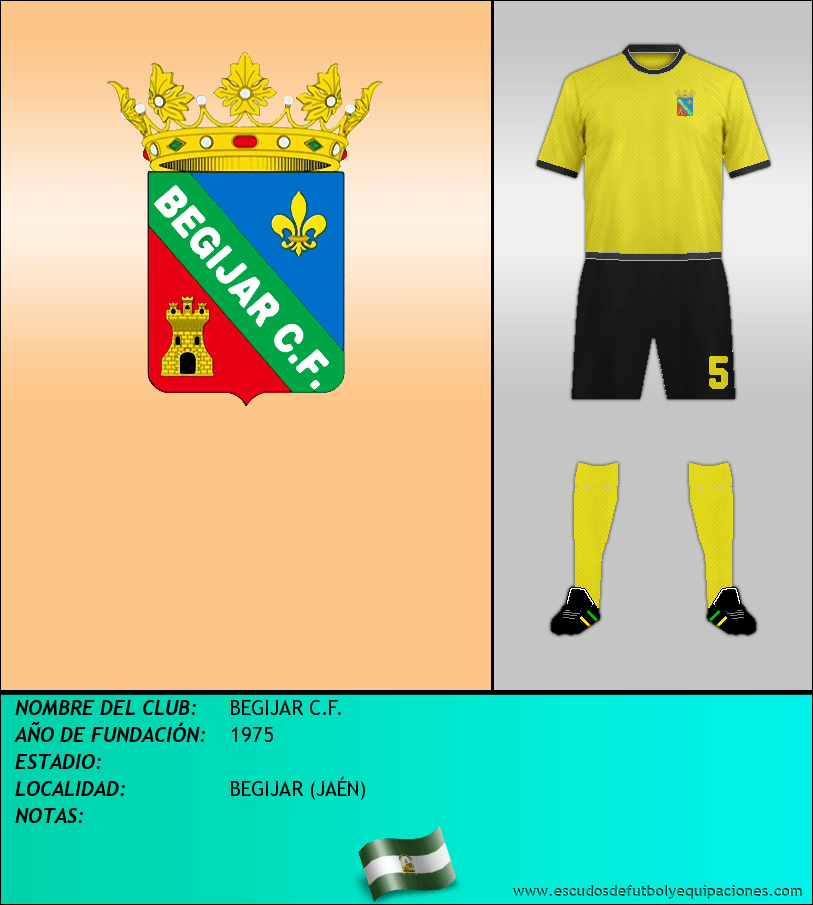 Escudo de BEGIJAR C.F.