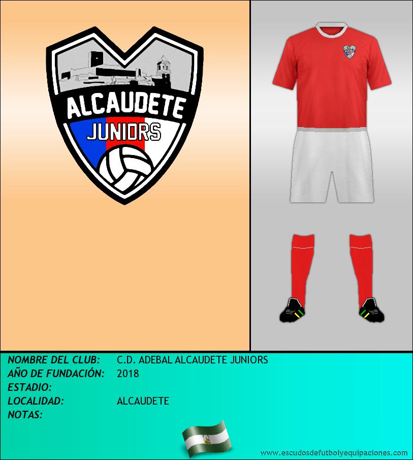 Escudo de C.D. ADEBAL ALCAUDETE JUNIORS
