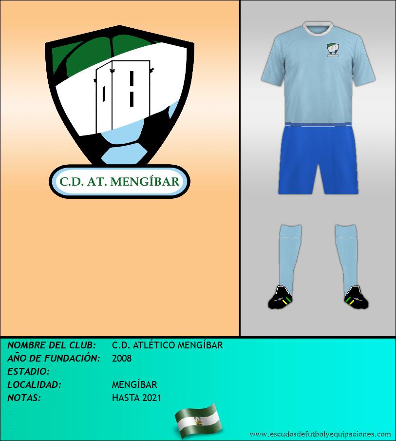Escudo de C.D. ATLÉTICO MENGÍBAR
