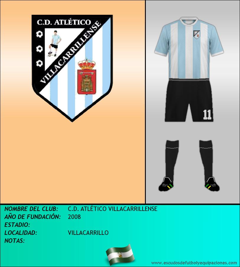 Escudo de C.D. ATLÉTICO VILLACARRILLENSE